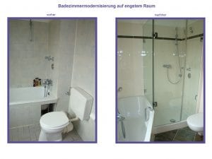 Badezimmersanierung