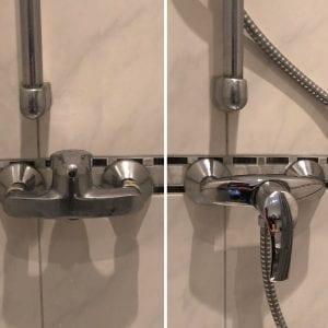 Erneuerung einer Duscharmatur