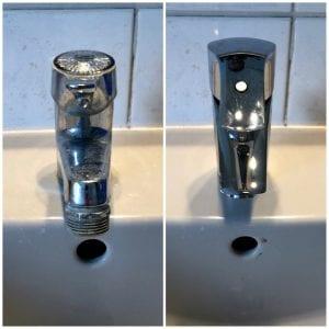 Erneuerung einer Waschtischarmatur