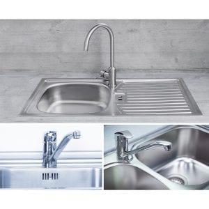Erneuerung von Küchenspülen und Armaturen